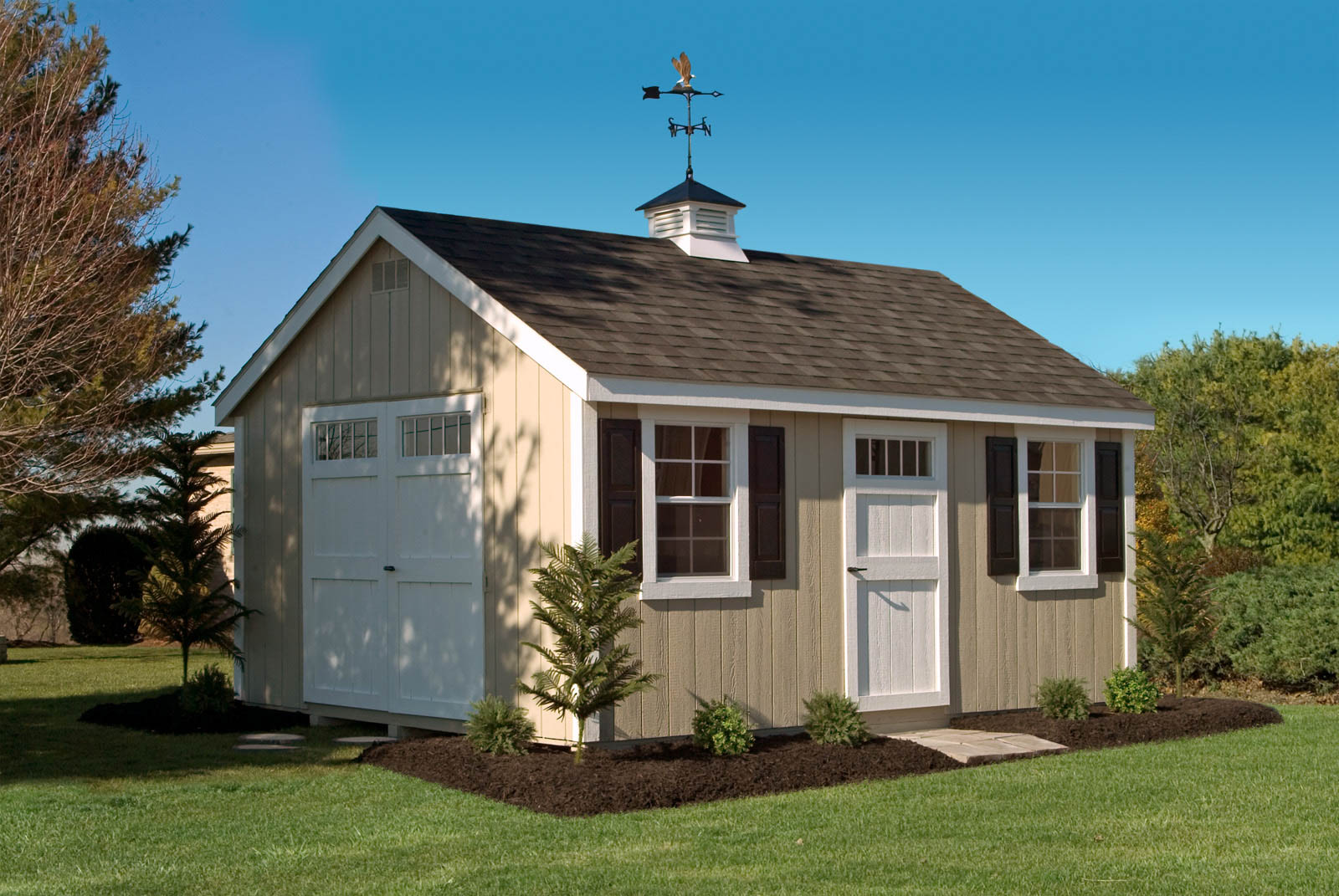 deluxe cape cod with beige wooden siding