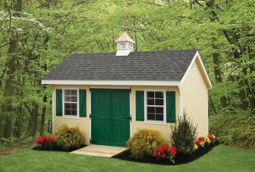 Classic New England Quaker Duratemp T1-11 Siding