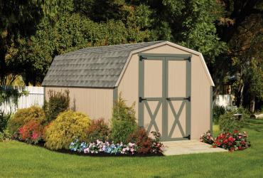 Standard Mini Barn T1-11 Duratemp Siding