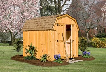 Mini Barn Board and Batten Pine Shed