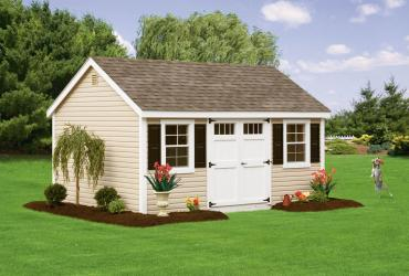 New England Classic: Cape Cod Shed-Vinyl-10