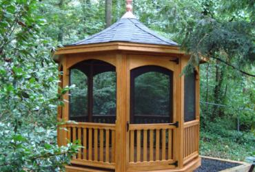 Majestic Wood Gazebo