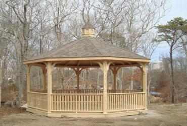 20' octagon country gazebo