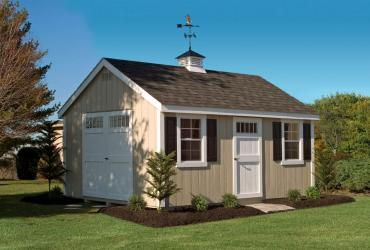 wooden deluxe cape cod shed