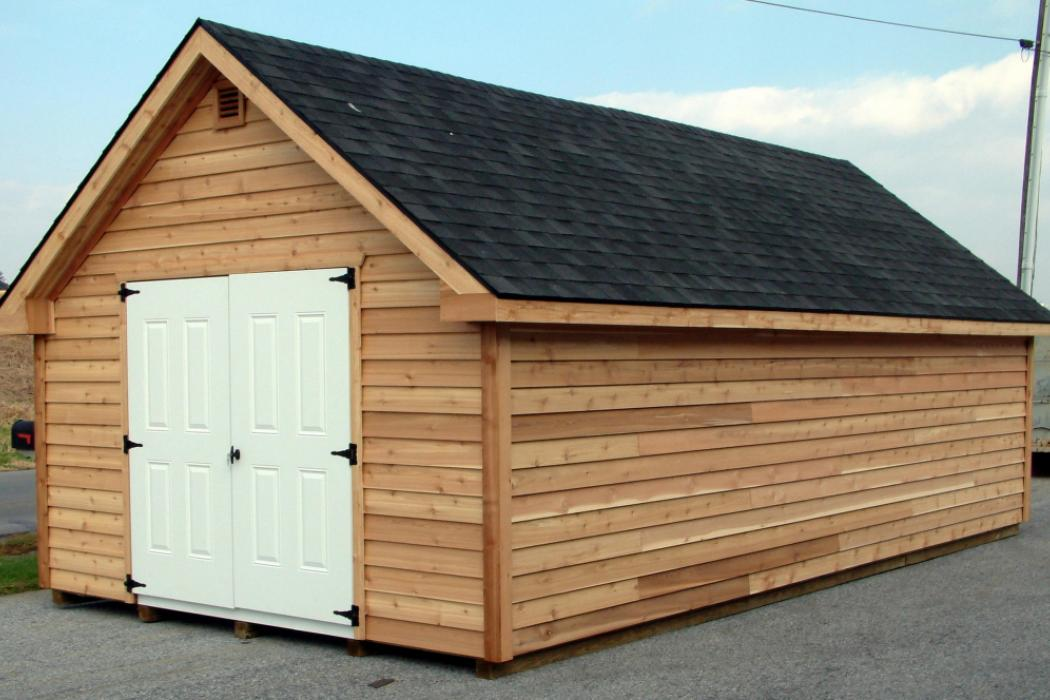 Cedar Shiplap Victorian Shed Lancaster County Barns