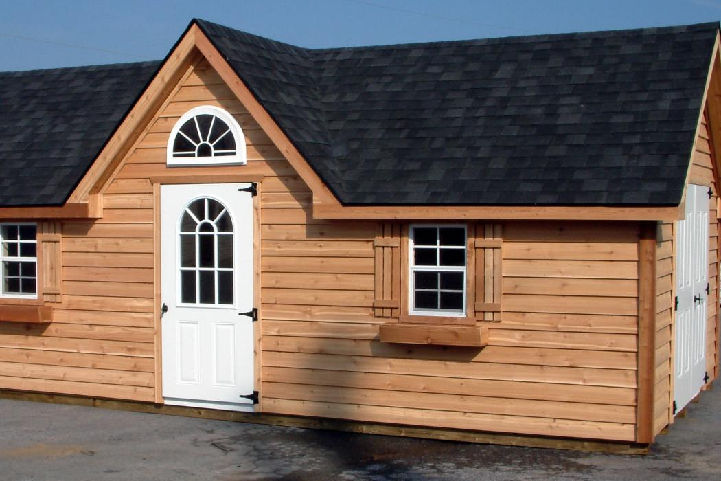 Cedar Shiplap Victorian Shed Lancaster County Barns