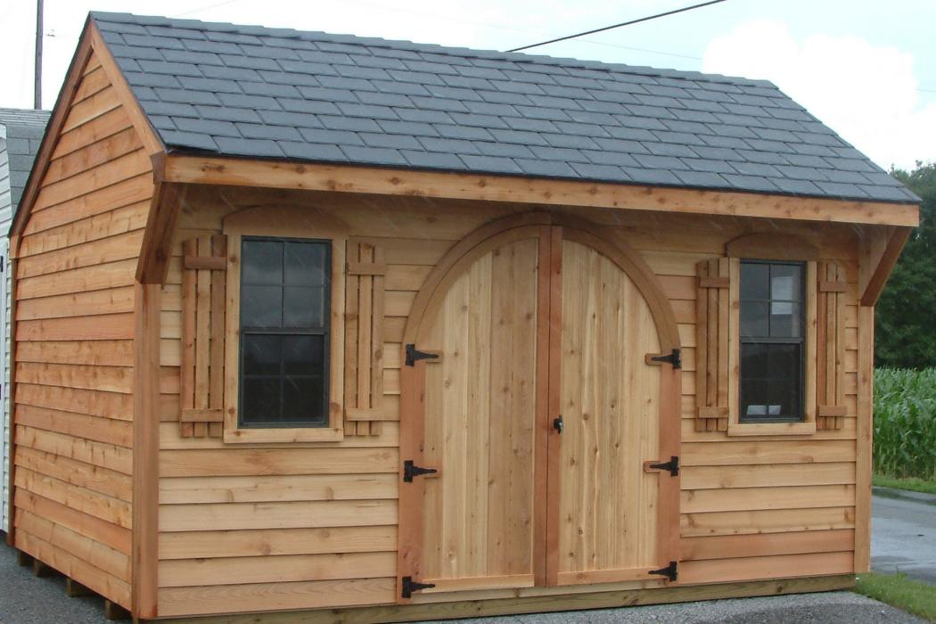 Cedar Shiplap Quaker Shed Lancaster County Barns