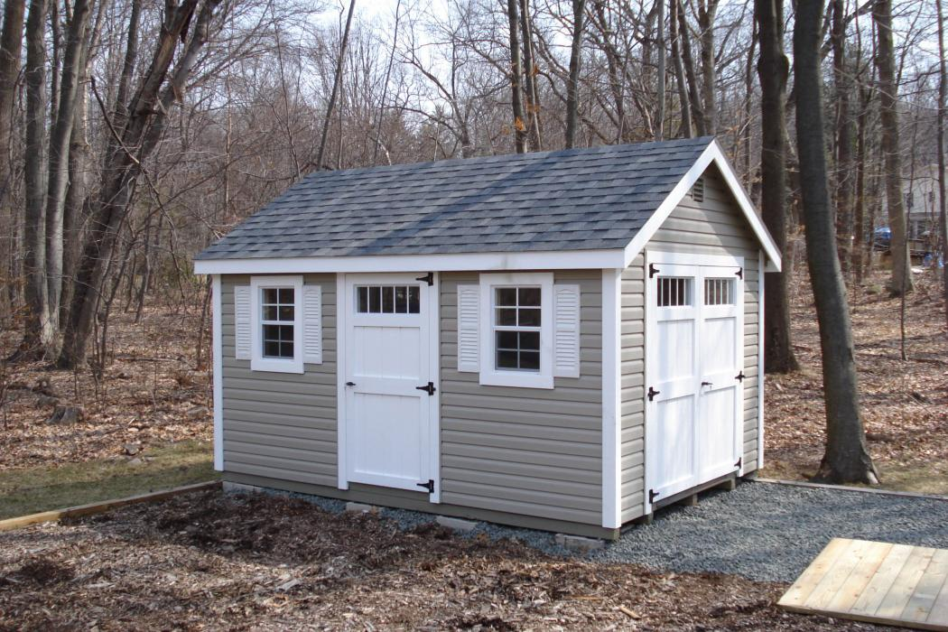 New England Classic: Cape Cod Shed
