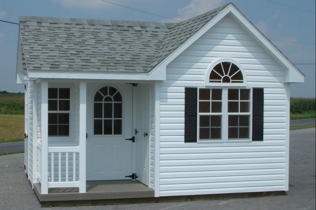 Classic Vinyl Victorian with porch-9