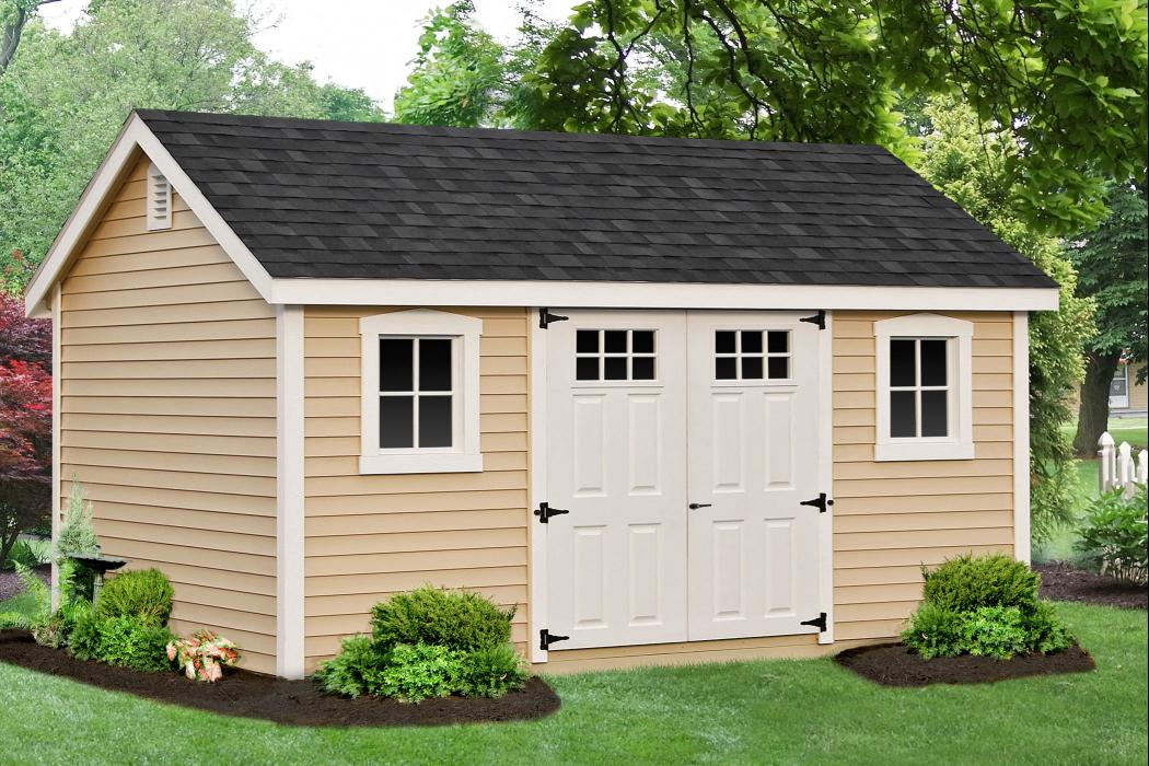 New England Classic: Cape Cod Shed-Vinyl -5