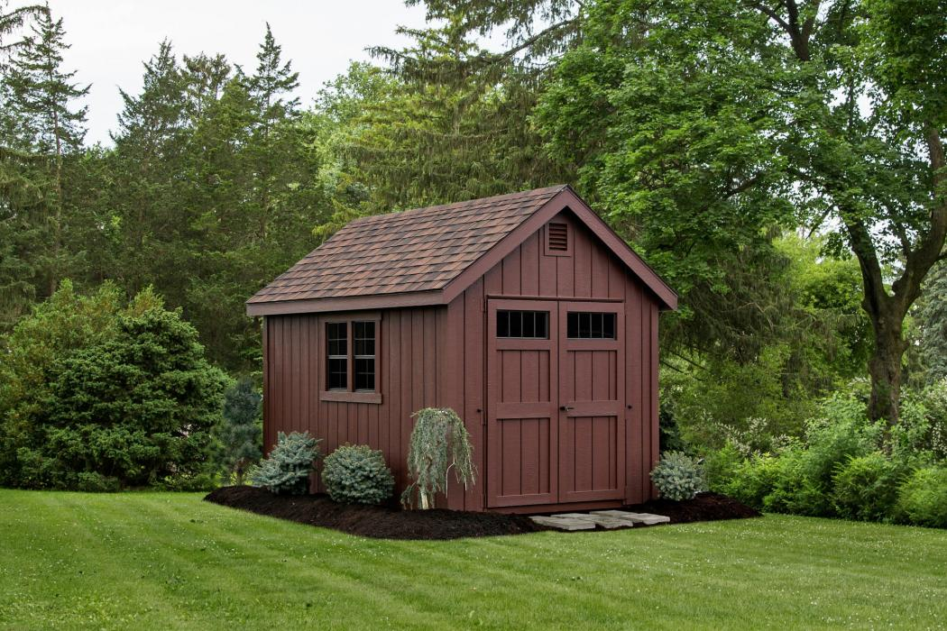 New England 9/12 Classic Shed:-Duratemp T1-11 Siding-1