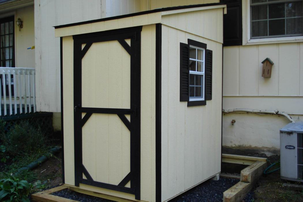 LEAN-TO shed T1-11 Siding-Standard-1