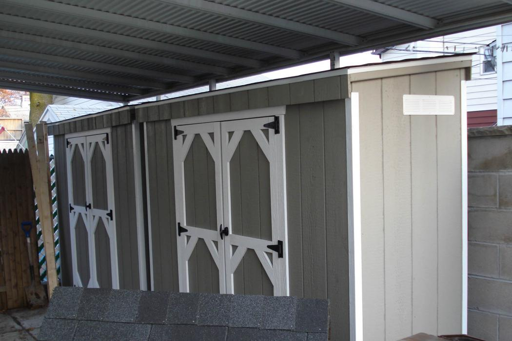 LEAN-TO shed T1-11 Siding-Standard-2