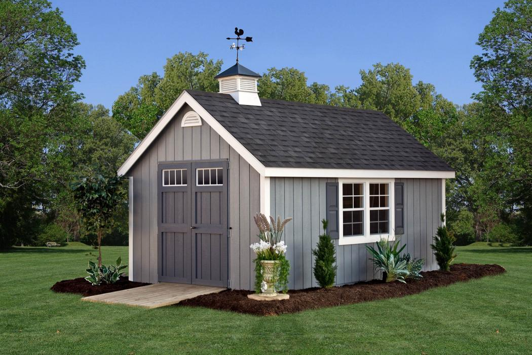 New England 9/12 Classic Shed:-Duratemp T1-11 Siding-2