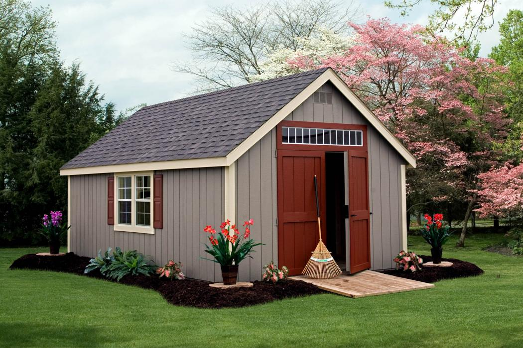 New England 9/12 Classic Shed:-Duratemp T1-11 Siding-3