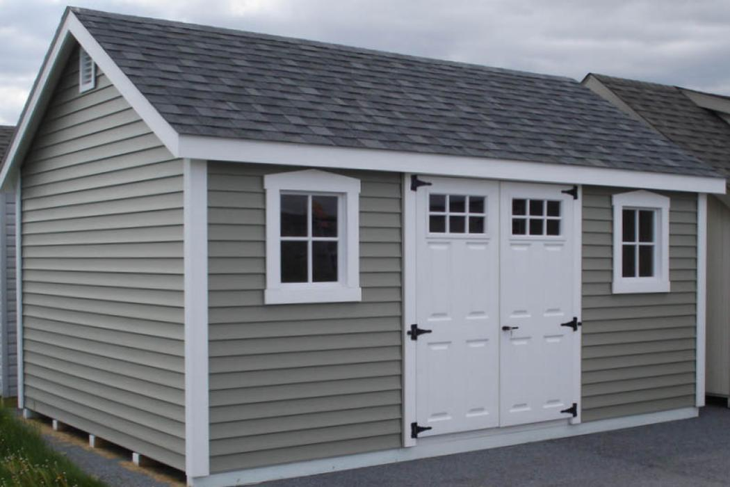 New England Classic: Cape Cod Shed-Vinyl -4
