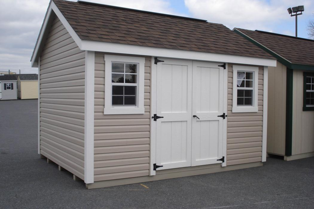 New England Classic: Cape Cod Shed-Vinyl -3