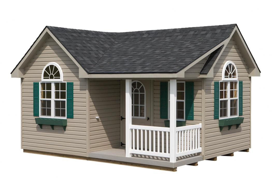 Classic Vinyl Victorian with porch-14