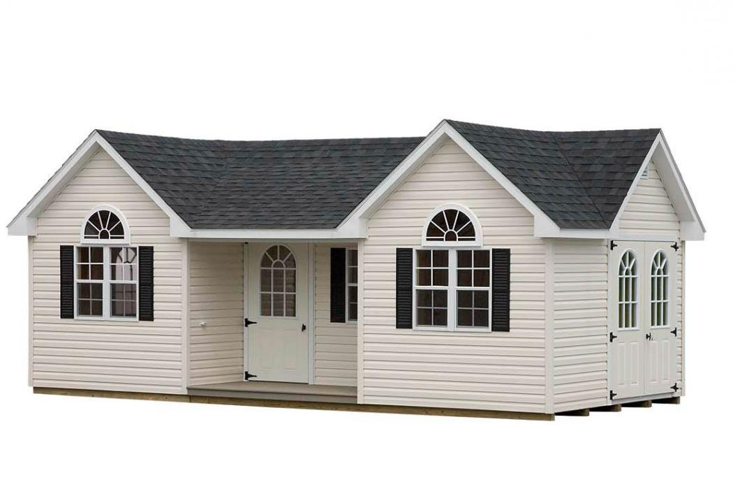 Classic Vinyl Victorian with porch-13