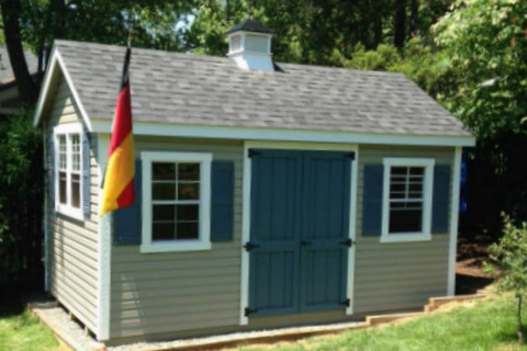 New England Classic: Cape Cod Shed-Vinyl -7
