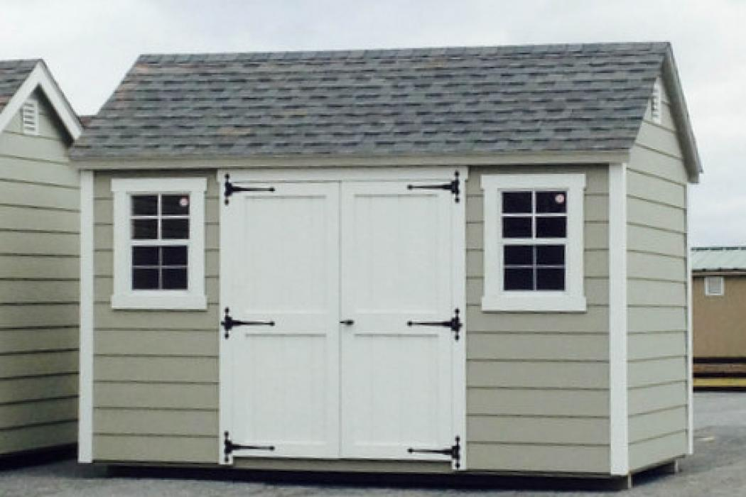 New England Classic: Cape Cod Shed-Vinyl -2