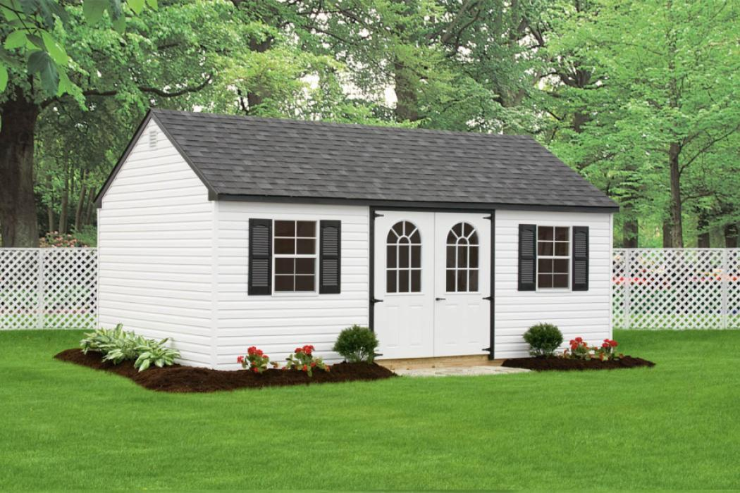New England Classic: Cape Cod Shed-Vinyl-7