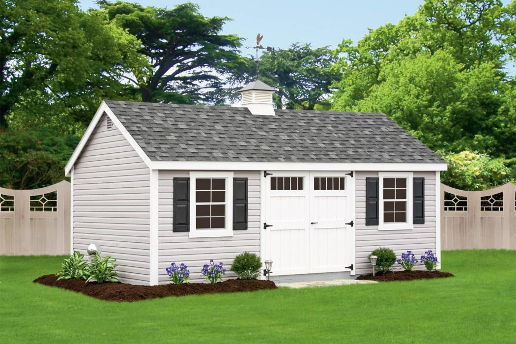 New England Classic: Cape Cod Shed-Vinyl-8