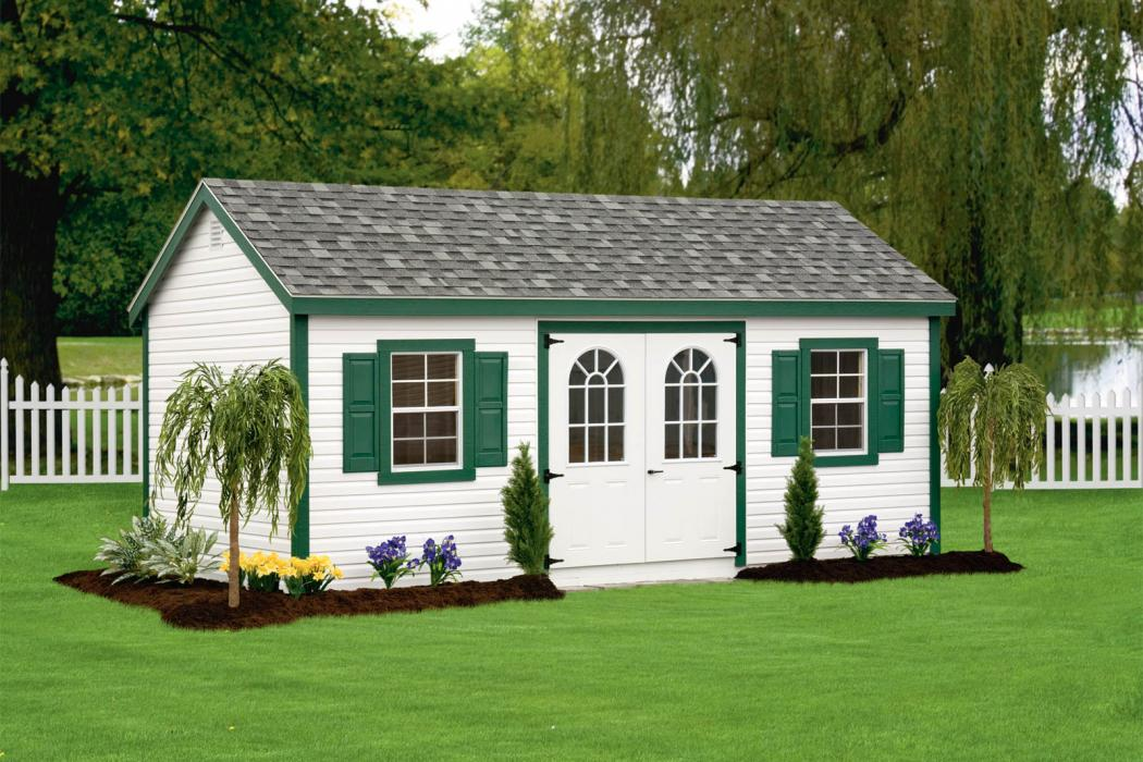 New England Classic: Cape Cod Shed-Vinyl-9