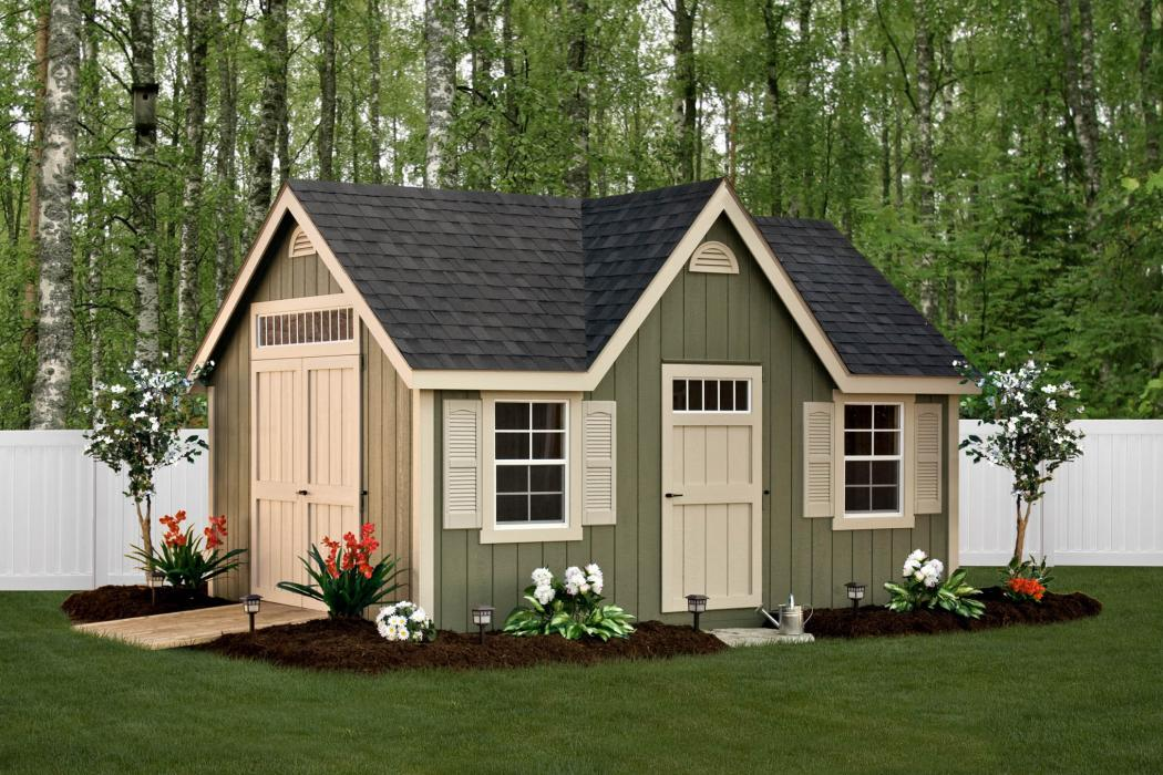 New England Classic 9/12 pitch with Dormer- Duratemp T1-11 Siding