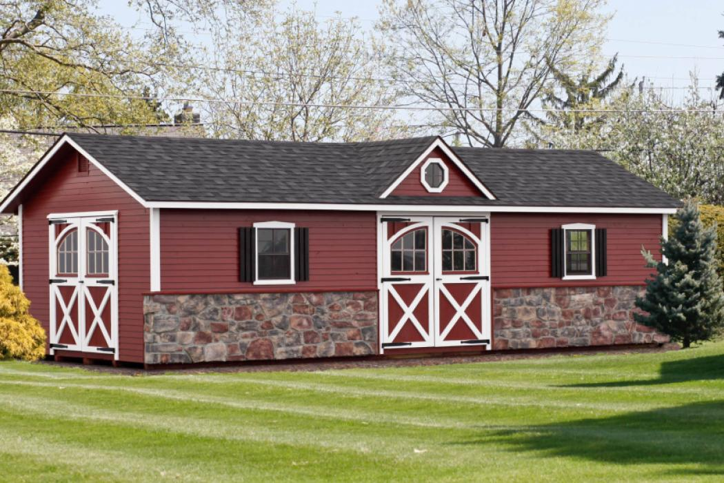 Manor Deluxe with Stone & Lap siding