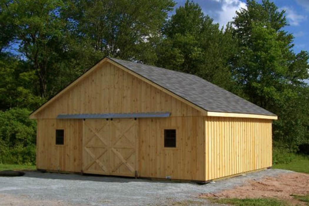 Single Story Barns   Lancaster County Barns