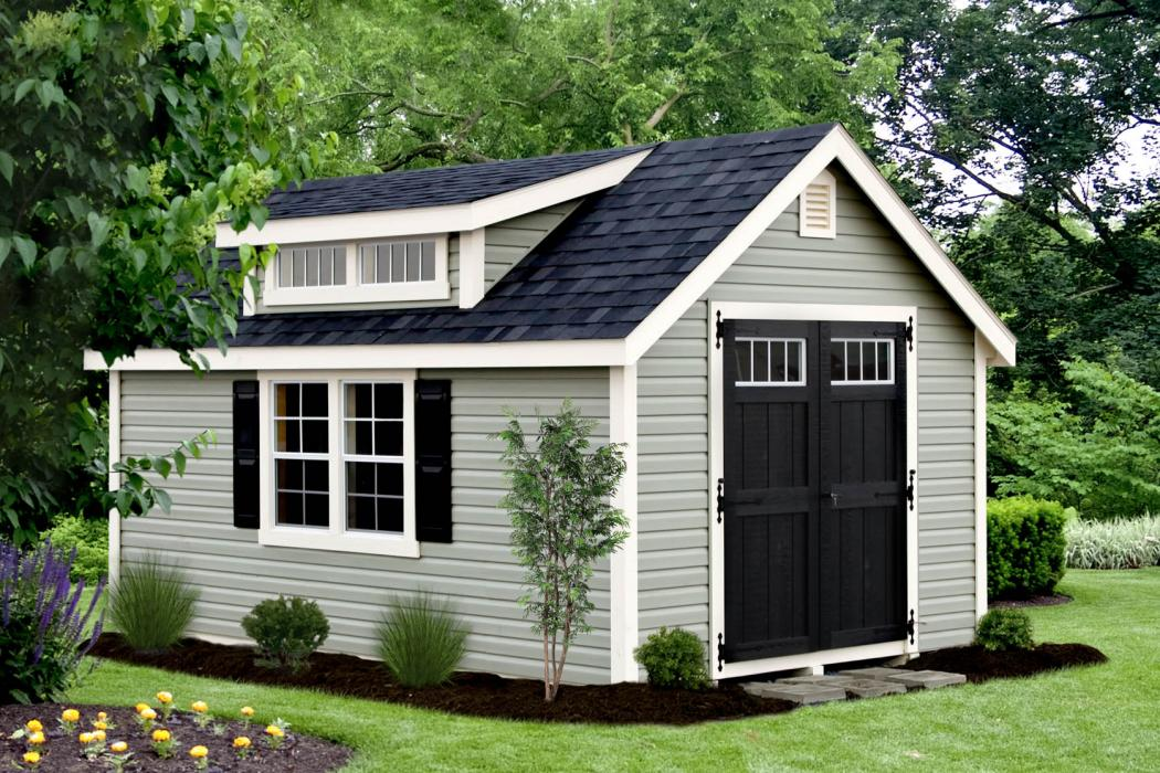 Classic Shed with Dormer -1