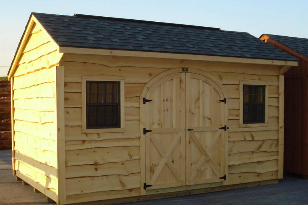 Quaker shed heritage siding-1