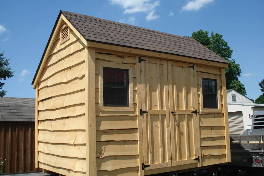 Heritage Lap Salt Box Shed Lancaster County Barns