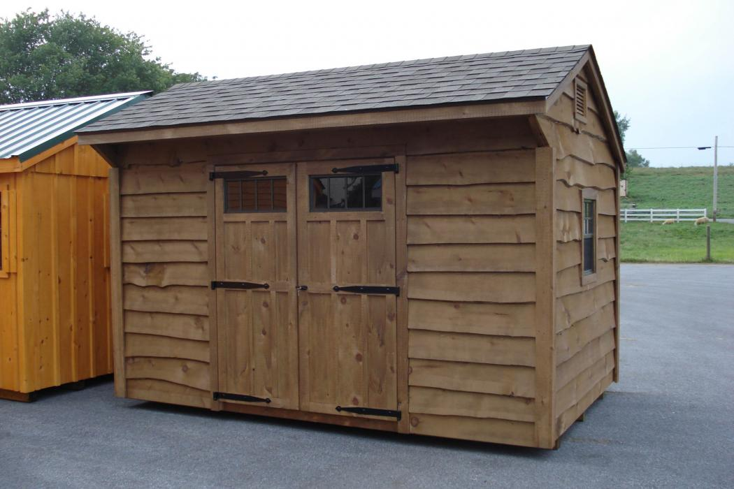 Quaker shed heritage siding-2