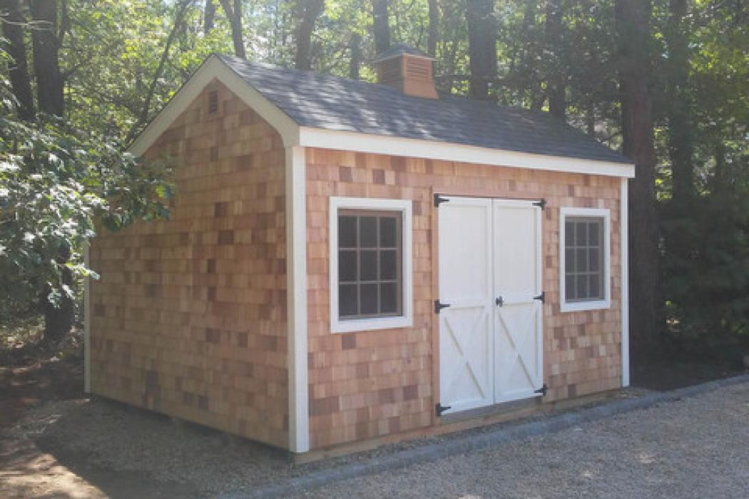 Cedar Shake Salt Box Shed Lancaster County Barns