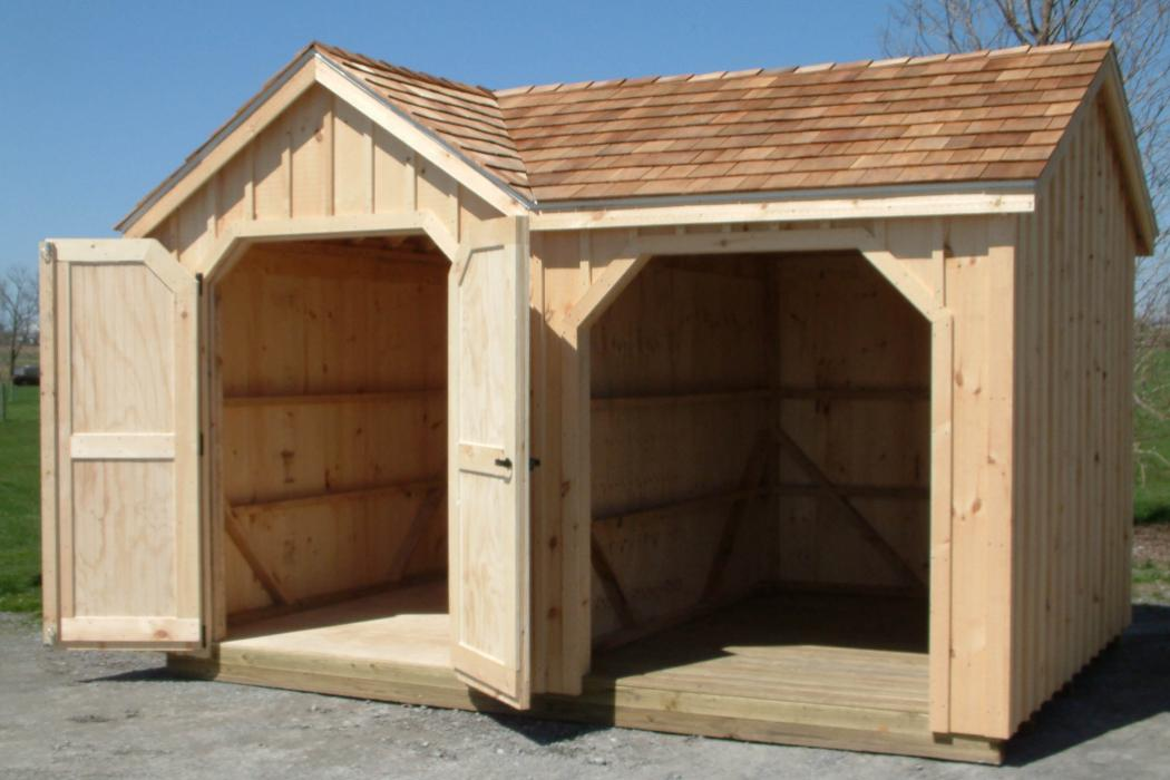 Standard Board Amp Batten Wood Storage Amp Tool Shed