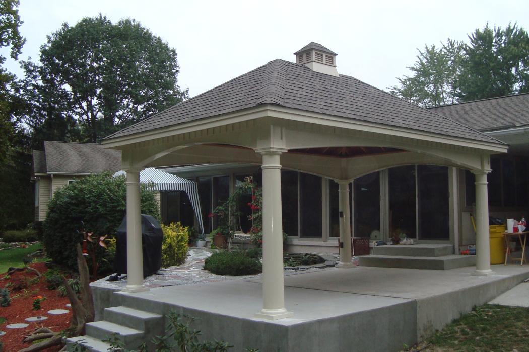 Hampton Vinyl Pavilion Lancaster County Barns