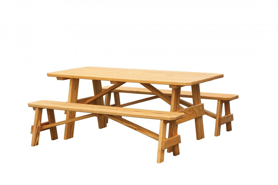 Regular Picnic Table (2 Benches)