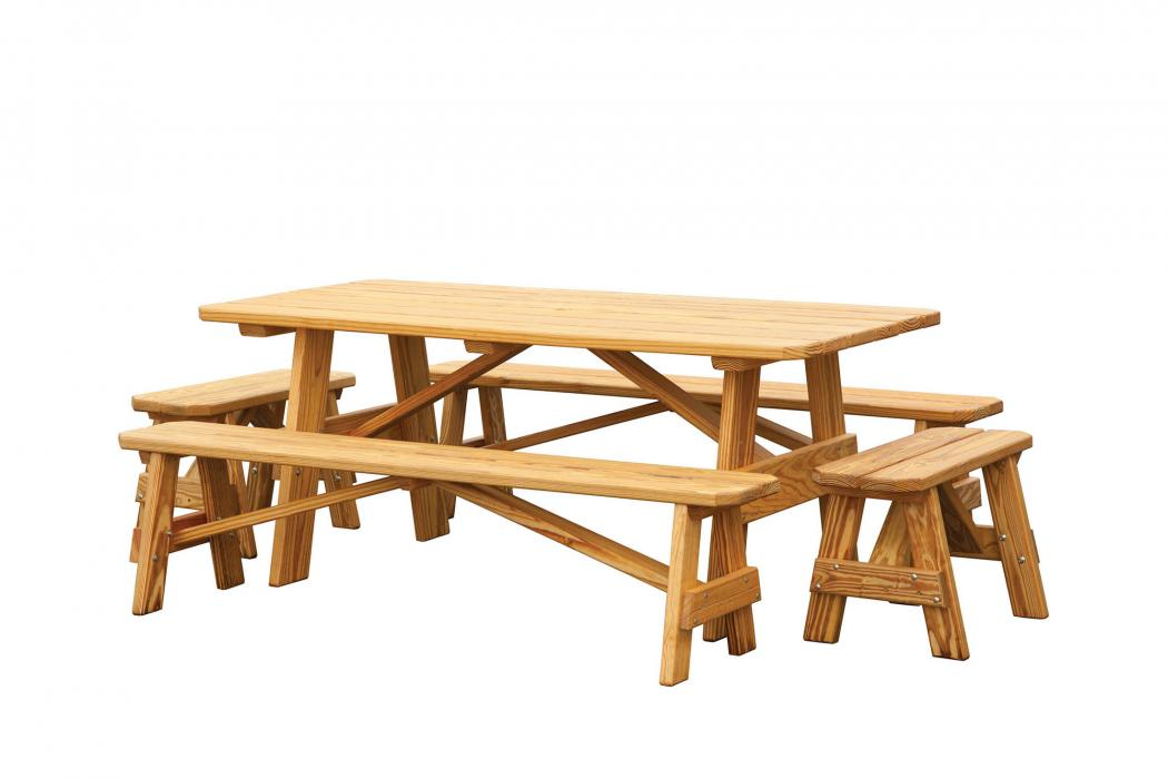 Regular Picnic Table (4 Benches)
