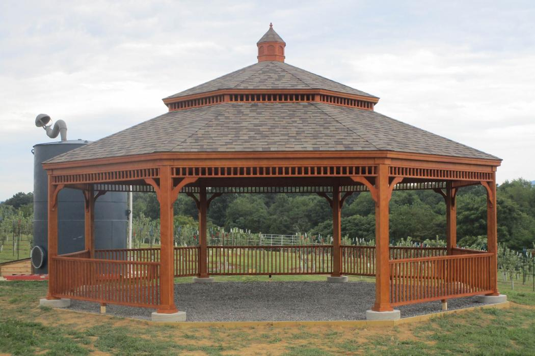 Victorian Double Roof Octagon Lancaster County Barns