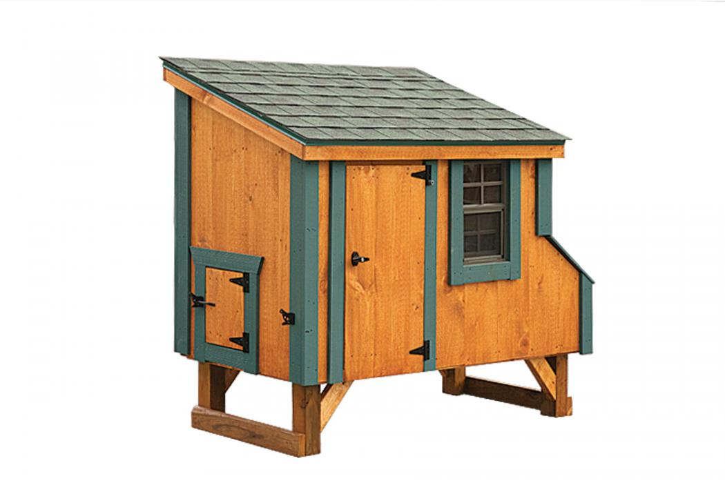 3 X5 Lean To Chicken Coop L35 Lancaster County Barns