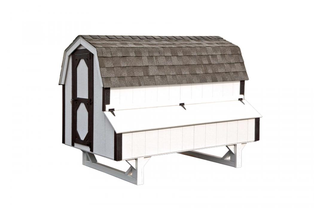 4 X8 Dutch Chicken Coop D48 Lancaster County Barns