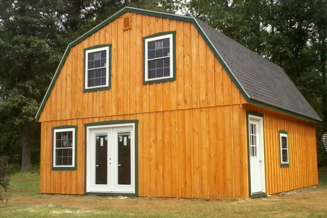 Gambrel Board and Batten