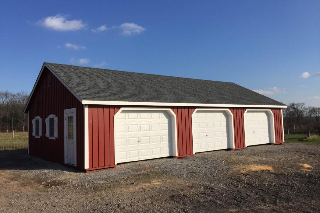 Custom Board and Batten Barn 26x46